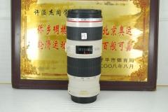 佳能 70-200 F4L IS 小小白防抖 单反镜头 红圈长焦 小三元之一