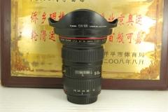 佳能 16-35 F2.8L USM II 全画幅超广角单反镜头 二代 红圈大三元之一 可置换