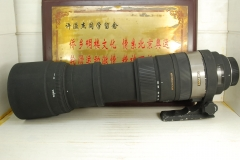 尼康口 适马 150-500 F5-6.3 OS HSM 超长焦 单反镜头 带防抖 远摄 可置换