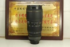 尼康口 适马 70-200 F2.8 APO HSM 小黑 单反镜头 恒圈 中长焦人像