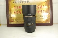 99新佳能口 图丽 100mm F2.8 D MACRO AT-X PRO百微单反镜头专业微距