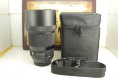 99新 佳能口 适马 135mm F1.8 DG ART 单反镜头 专业人像定焦出片好