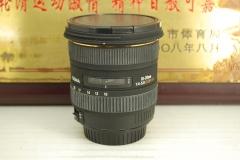 95新 佳能口 适马 10-20 F4-5.6 DC HSM 非全幅超广角 单反镜头