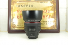 97新 佳能 85mm F1.2L II 镜皇 大眼睛 单反镜头专业定焦人像牛头