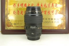 98新 佳能 100mm F2.8 USM 百微二代 单反镜头 专业1:1微距 定焦