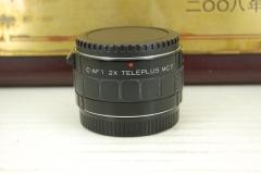 95新 佳能口 肯高 2X 增倍镜 MC7 C-AF1 2倍 增距镜 长焦镜头延长管