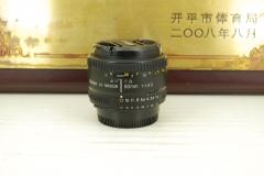 97新 尼康 50mm F1.8D 单反镜头 大光圈定焦 人像标头 性价比高