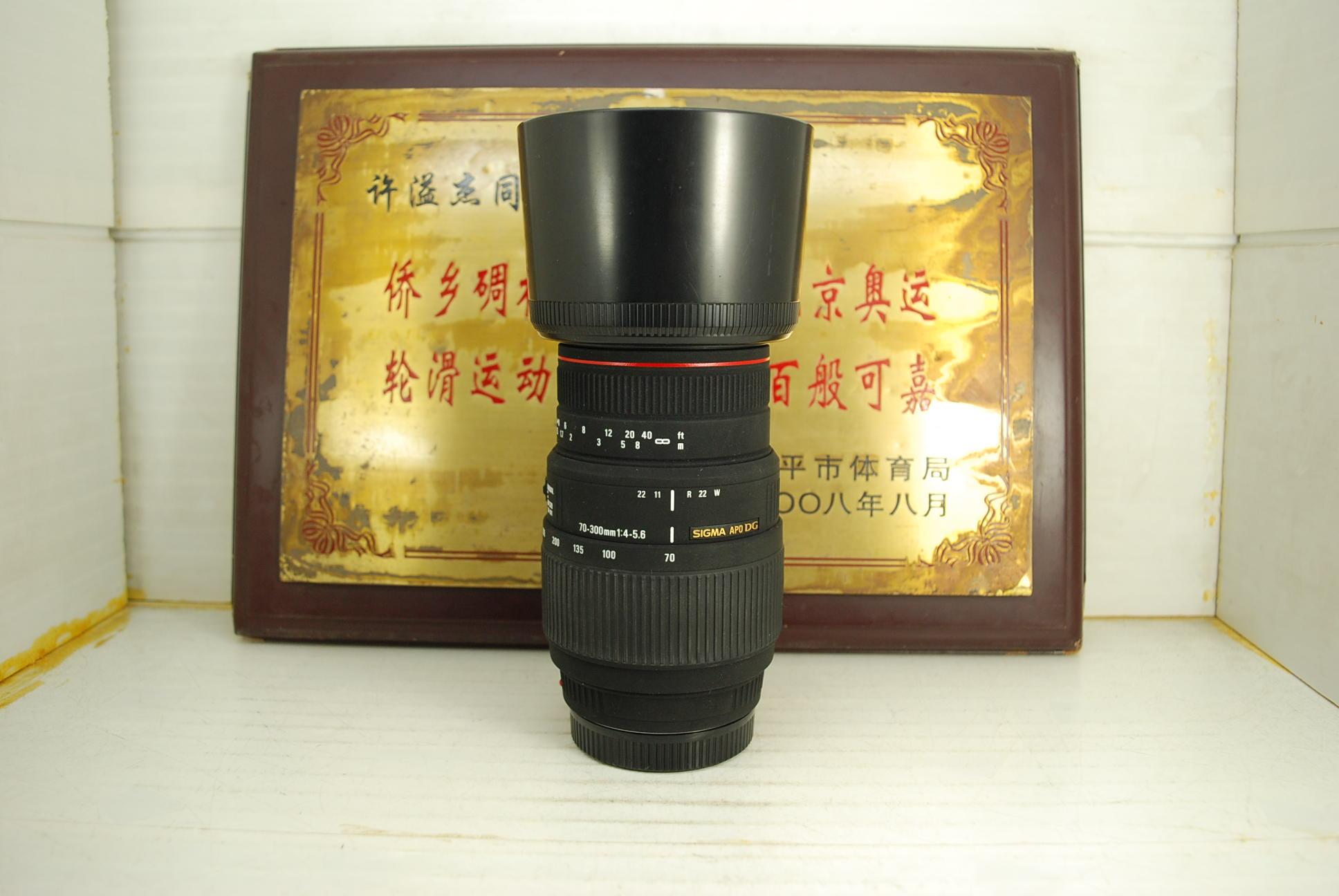 97新索尼单反a口 适马 70-300 F4-5.6 Macro APO DG 镜头长焦远摄