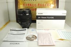 尼康口 适马 24-70 F2.8 OS HSM Art 四代 单反镜头 防抖 恒圈 挂机