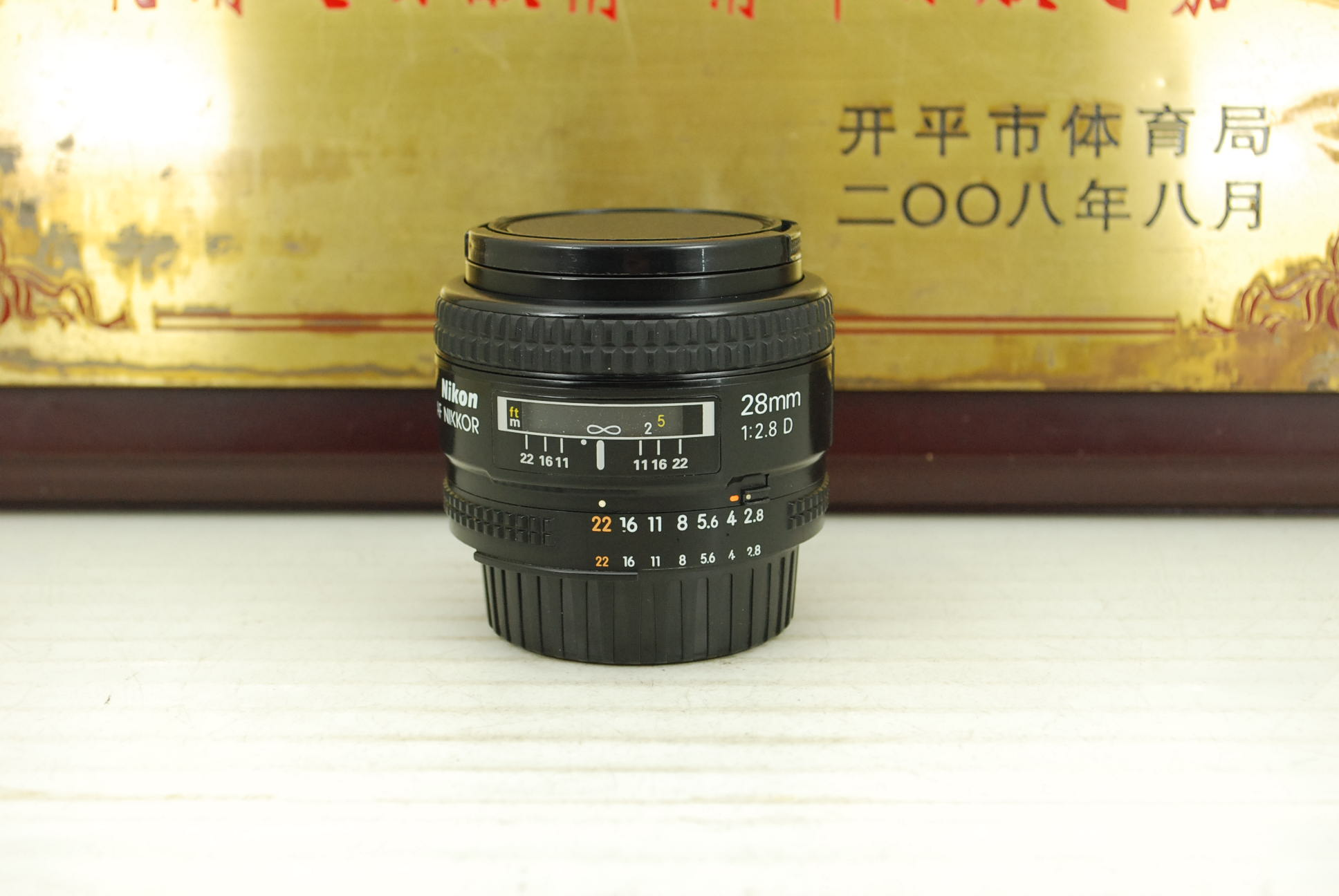 95新 尼康 28mm F2.8D 單反鏡頭 大光圈廣角定焦人文人像性價比高