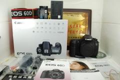 97新 佳能 60D 数码单反相机 旋转屏1800万像素 中端机型性价比高