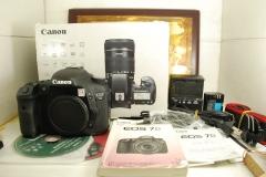97新 佳能 7D 数码单反相机 非全画幅专业机型 1800万像素 高清摄像