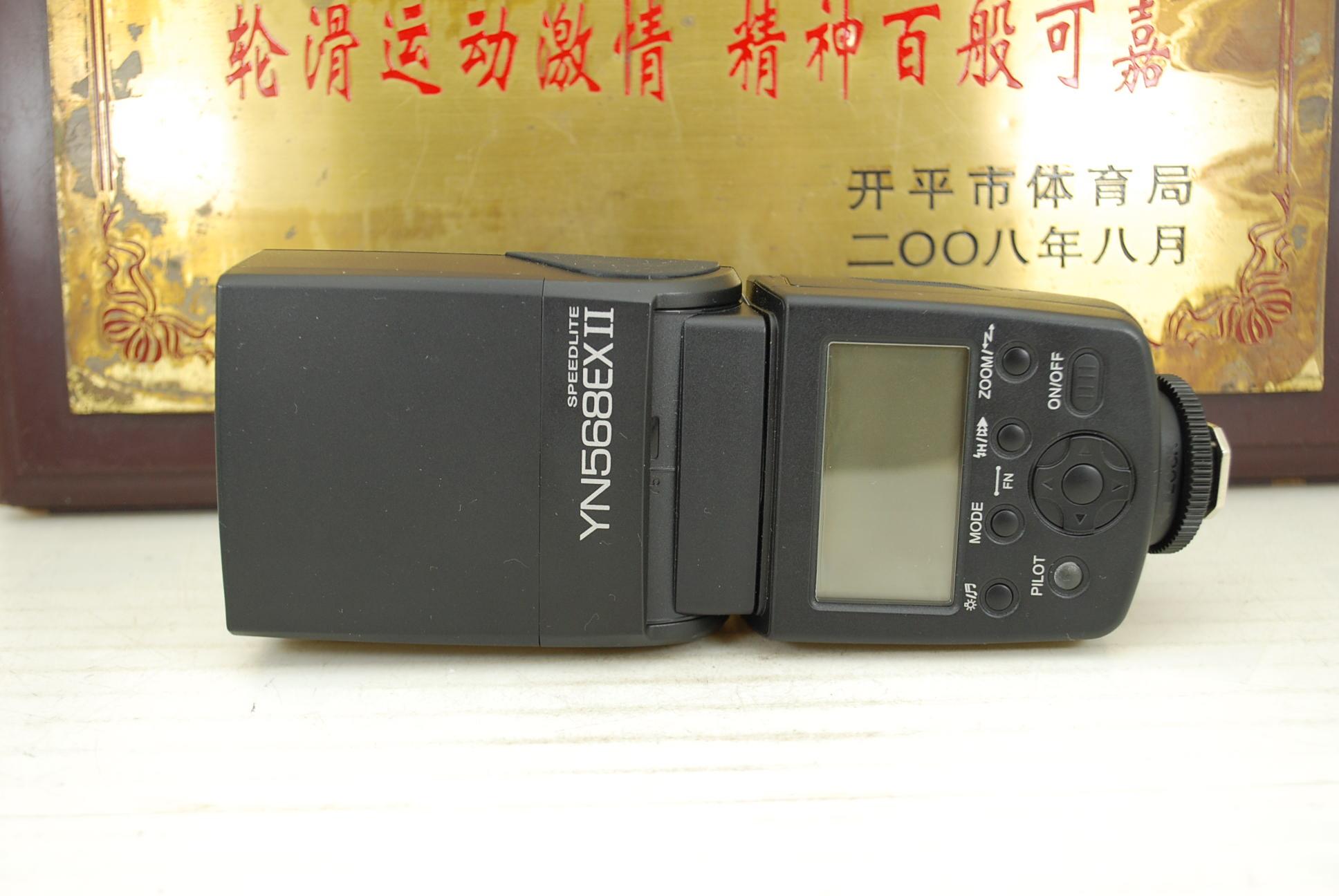 98新 佳能口 永诺 YN568EX II 闪光灯 外置机顶灯 二代 TTL自动同步
