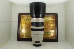 佳能 100-400 F4.5-5.6L IS 大白 超长焦 单反镜头 专业红圈 带防抖