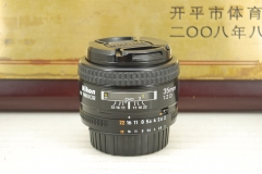 95新 尼康 35mm F2D 单反镜头 大光圈广角定焦 人文人像 性价比高