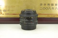 尼康 AF 50mm f1.8D单反专业镜头大光圈定焦专业人像饼干标头