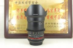 佳能口 三阳 35mm T1.5 II手动电影头35mm F1.4 大光圈定焦单反镜头