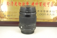 佳能口 适马 18-200 F3.5-6.3 Macro OS HSM C标 单反镜头 防抖挂机