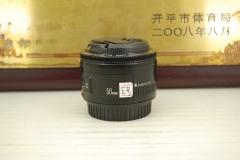 佳能 50mm F1.8 II 小痰盂 单反镜头大光圈定焦人像标头 性价比高