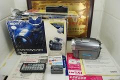 Sony/索尼 DCR-DVD803E 光盘摄像机 家用DV录像机 复古怀旧收藏