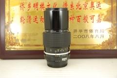 92新 尼康 200mm F4 AI手动单反镜头 远摄定焦户外人像 出片好