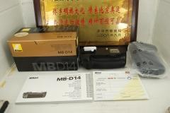 全新 尼康 MB-D14 原厂手柄 竖拍电池盒适用于 D610 D600单反机身
