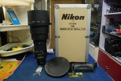 95新尼康 300mm F2.8 ED AF 炮头 328单反镜头大光圈专业远摄定焦
