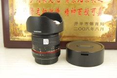 佳能口 三阳 14mm F2.8 全幅超广角 手动单反镜头 风光建筑 14 T3.1
