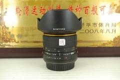 佳能口 三阳 14mm F2.8 全幅超广角 手动单反镜头 风光建筑