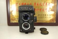 雅西卡 Mat-124 G 双反 120胶卷机械相机带80mm F3.5镜头