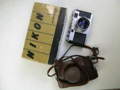带包装盒,皮套,尼康经典旁轴S2+50 1.4