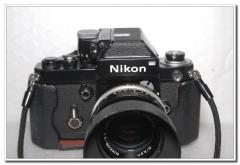 套机黑色尼康F2+尼康AUTO 50/1.4,带原厂遮光罩