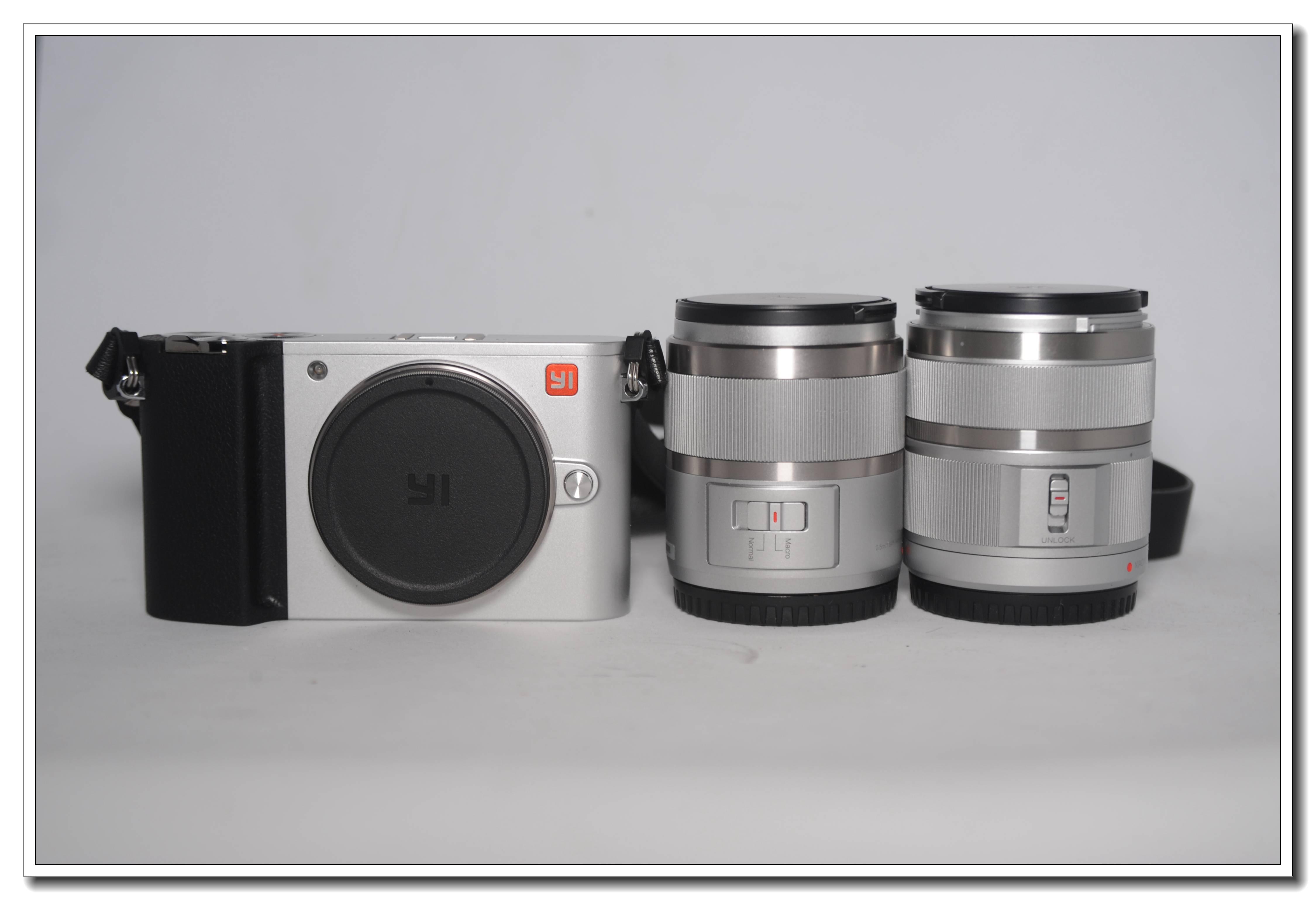 小蚁/YI-M1 一机两镜 原盒包装