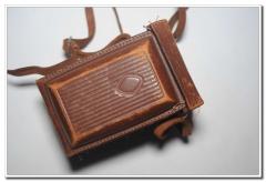 Rolleiflex/禄莱120双反天塞 75 3.5带皮套