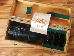 前苏联 俄罗斯 著名姆托 MC版 MTO 8/500 折返 反射 镜头