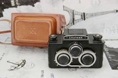 苏联 俄罗斯 Sputnik-120/СПУTHИK 120 立体双反相机
