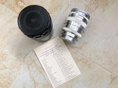 苏联 全新  尤比杰尔9 1960年 白银版 收藏级成色 L39口 镜头