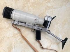 苏联 俄罗斯 罕见银色版 大枪相机 泽尼特 Zenit 大全套 单反相机