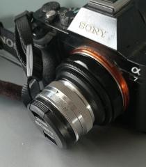康泰克斯蔡司50mm2改装索尼E