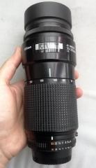 尼康AF 70-210/4小小黑自动对焦镜头 成色不错