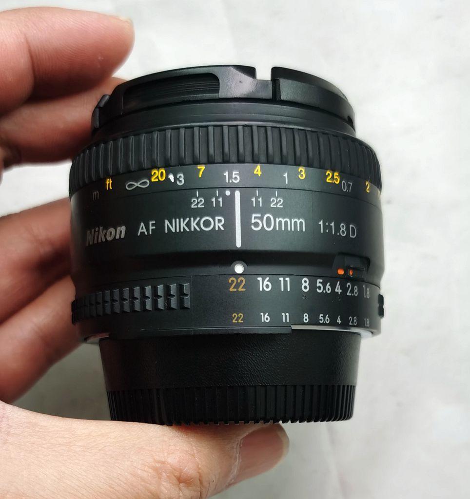 尼康皮徕卡心  徕卡R50/2种镜 尼康50/1.8D