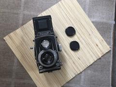 禄来对手2.8大光圈德产双反相机,Rollop 2.8
