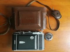稀有法国罗耶ROYER TELEROY八大张 SOM-BERTHIO 105/3.5镜头折叠相机