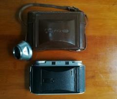 收藏级福伦达BESSA II八大张折叠相机