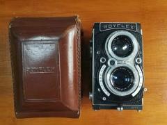 稀少的法国ROYFLEX双反SOM Berthiot75/3.5镜头