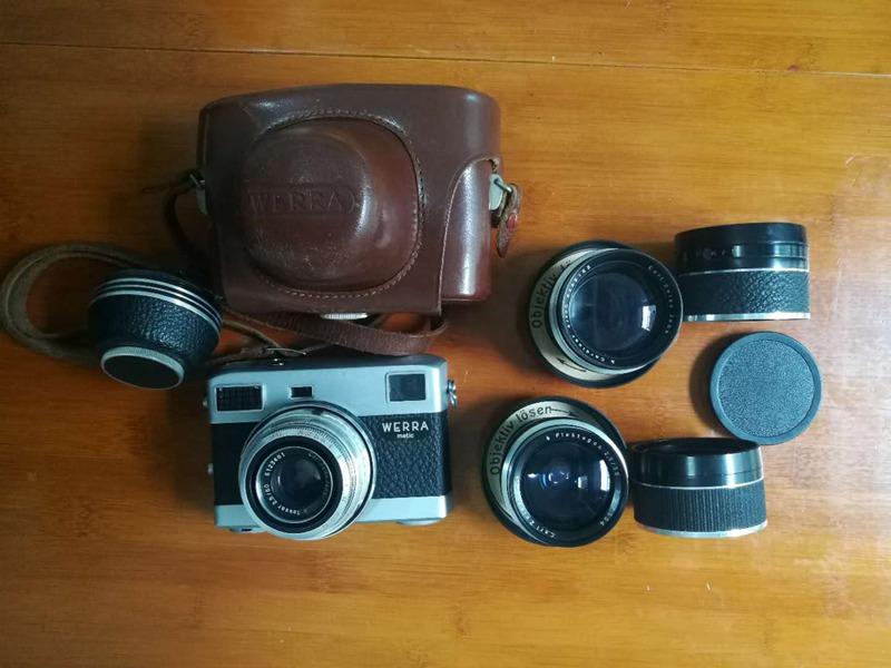 德产蔡司WERRA matic相机3镜头大全套
