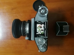 大全套德产爱克山泰EXAKTA Verex IIb单反相机50/2蔡司镜头