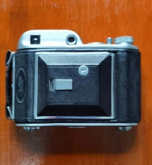 稀少英国军旗Ensign Auto 220折叠120相机蔡司Zeiss Teaser F2.8镜头