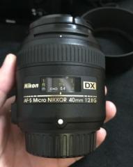 尼康40 2.8G微距镜头
