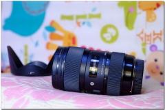 适马SA口 18-35/1.8 HSM Art镜头,适马SD14、SD1M、SDQ等适用